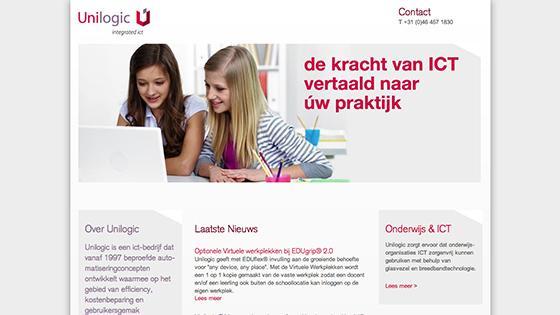 De unilogic website